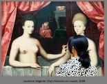 Laurence Aërgerter, Louvre [Gabrielle d'Estrée et sa soeur, Ecole deFontainebleau, 1594], 2008 © Laurence Aërgerter
