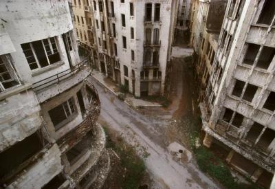 René Burri, Beyrouth, 1991